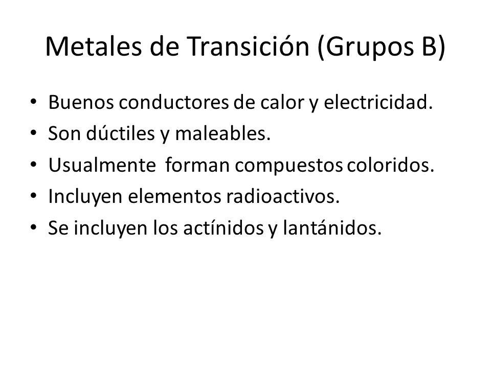 Tabla peridica ppt descargar metales de transicin grupos b urtaz Images