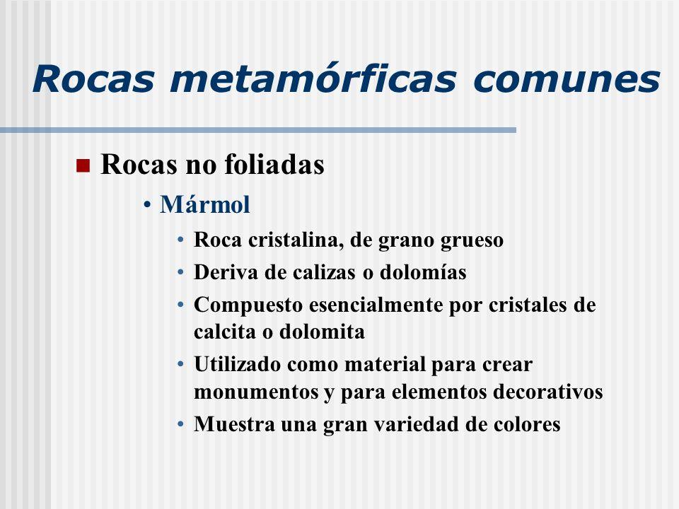 Cap tulo 8 metamorfismo y rocas metam rficas ppt video for Marmol clasificacion