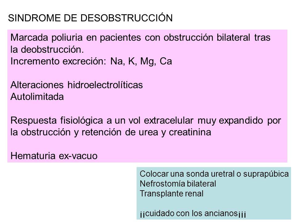 SINDROME DE DESOBSTRUCCIÓN