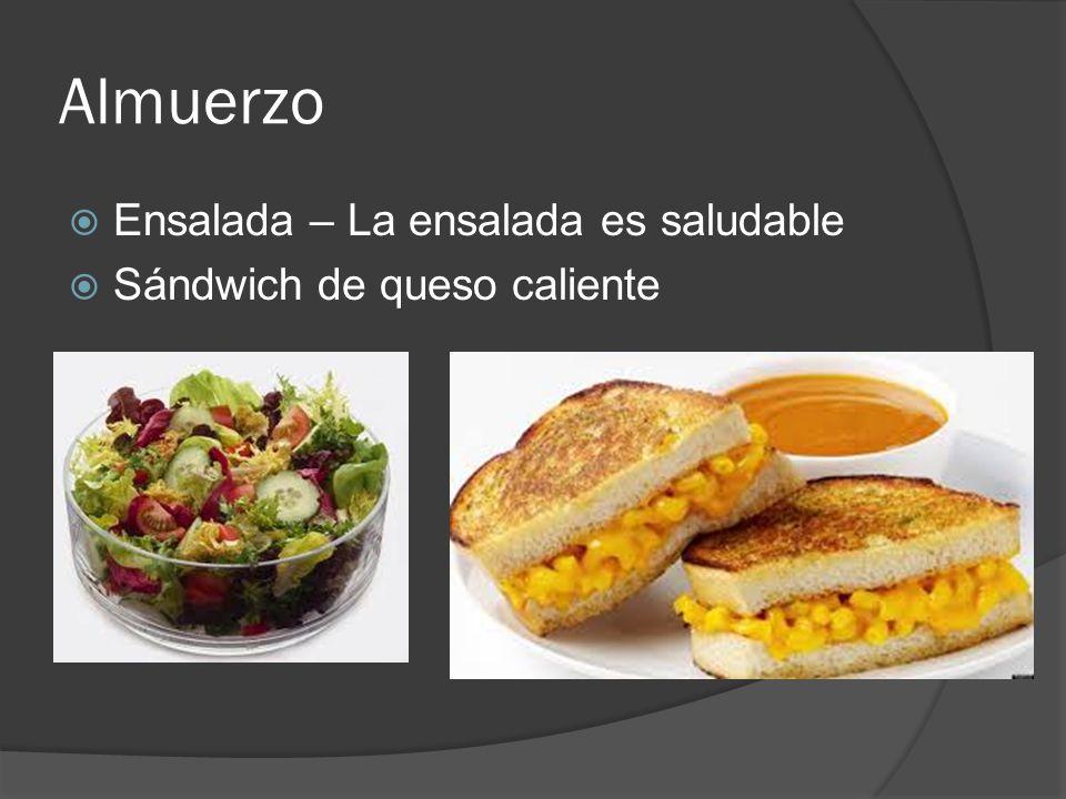 Almuerzo Ensalada – La ensalada es saludable