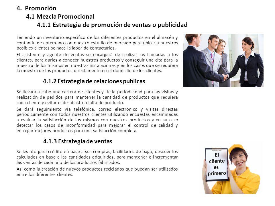 4. Promoción 4. 1 Mezcla Promocional 4. 1