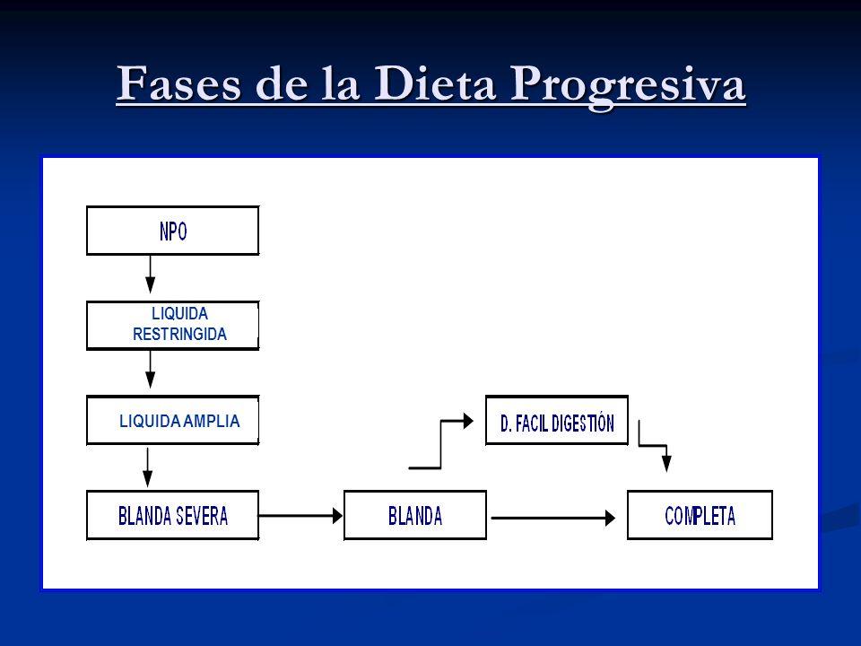 Fases de la Dieta Progresiva