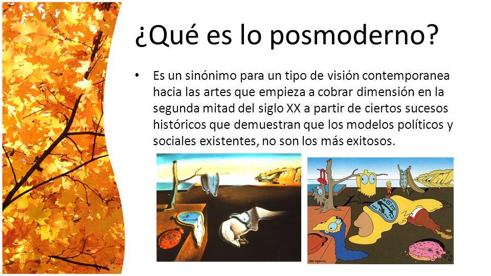 Literatura posmoderna ppt descargar for Contemporanea sinonimo