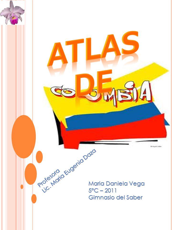 Atlas de Lic. Maria Eugenia Daza Profesora Maria Daniela Vega
