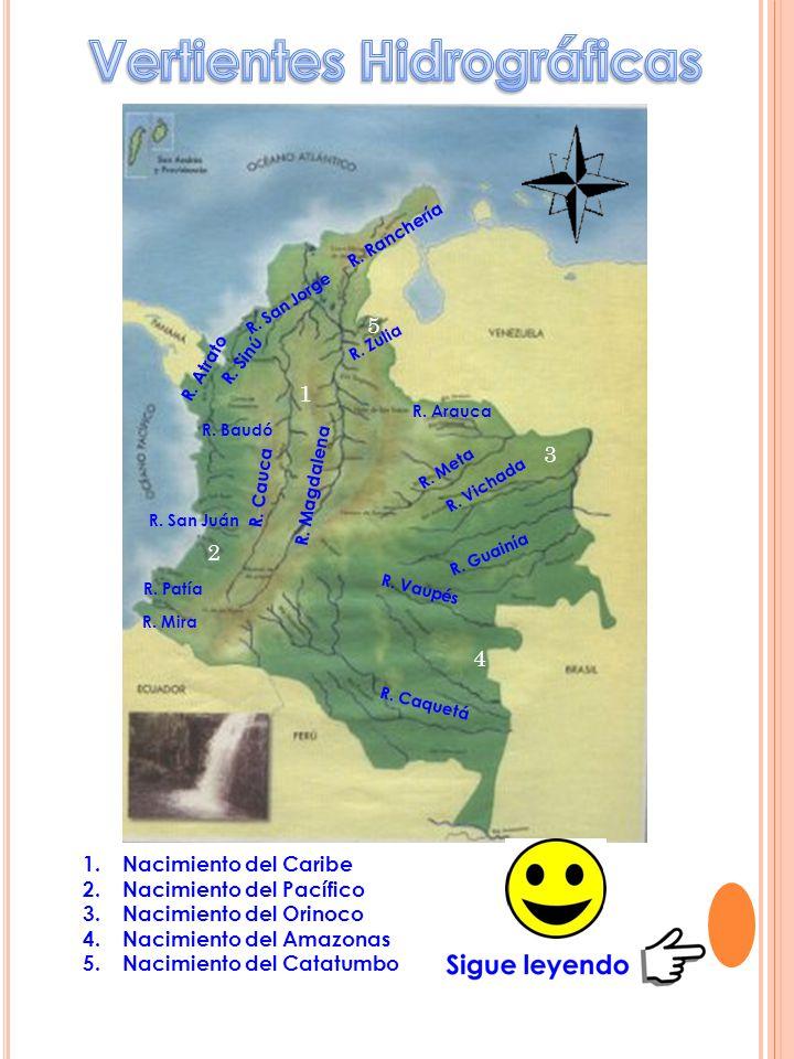 Vertientes Hidrográficas