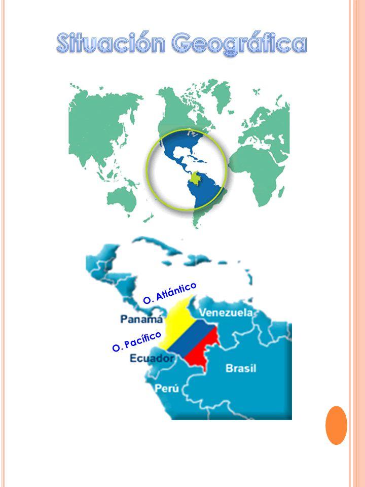 Situación Geográfica O. Atlántico O. Pacífico