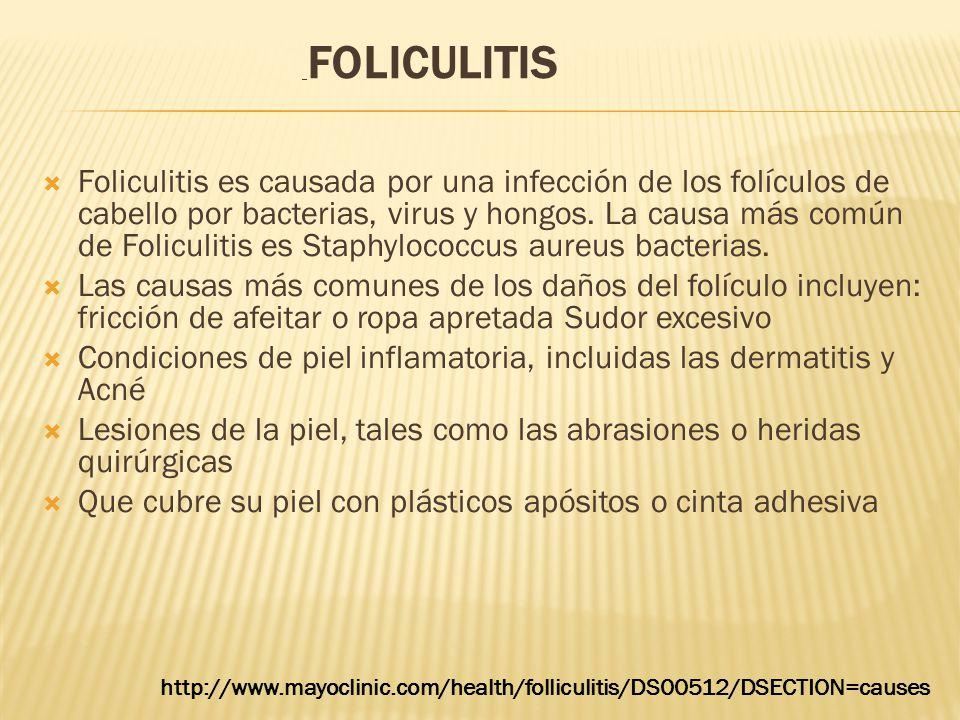 Condiciones de piel inflamatoria, incluidas las dermatitis y Acné
