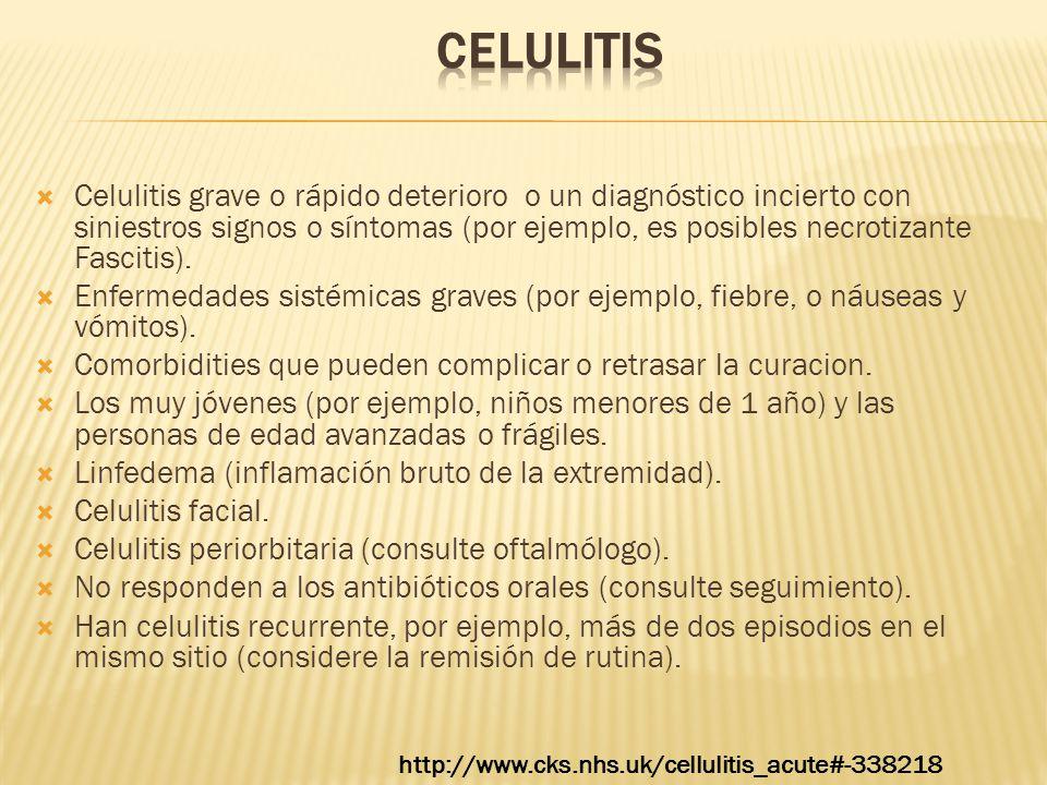 CELULITIS