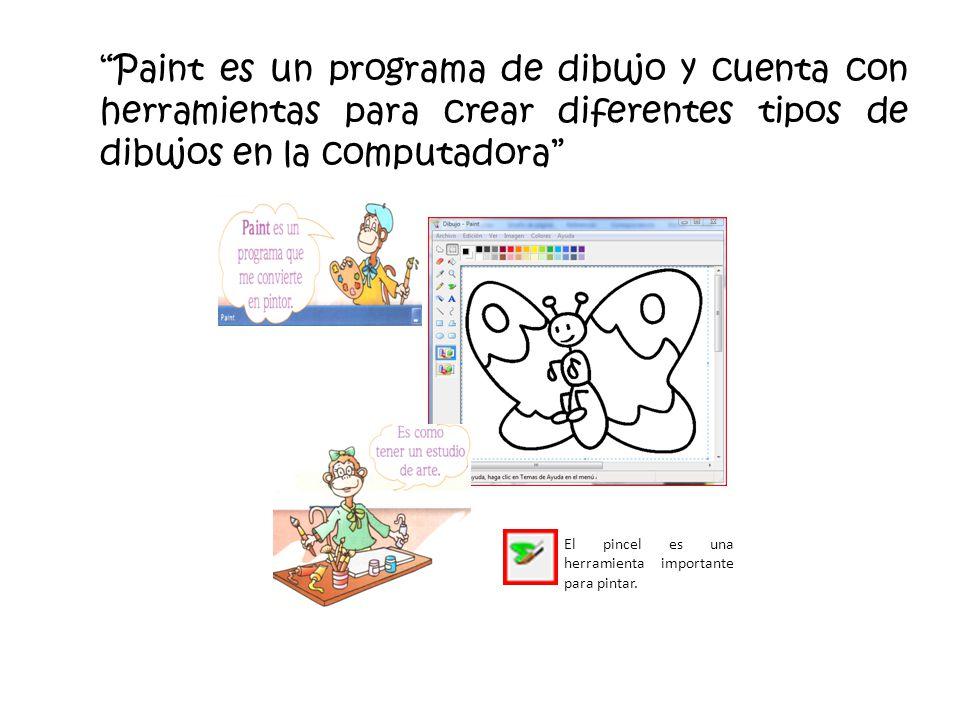 Unidad 3 dibujar con paint ppt descargar for Programa para dibujar casas