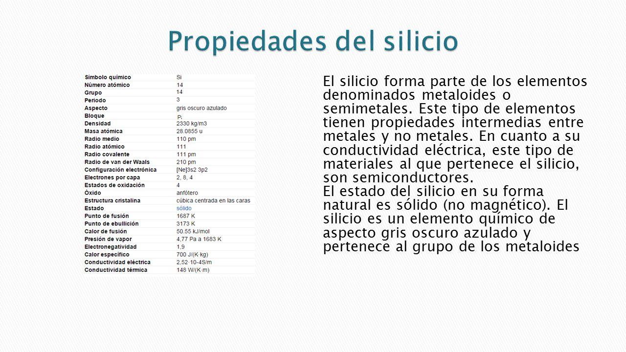 F sica de semiconductores caracater sticas del si ppt for Inmobiliaria o inmobiliaria