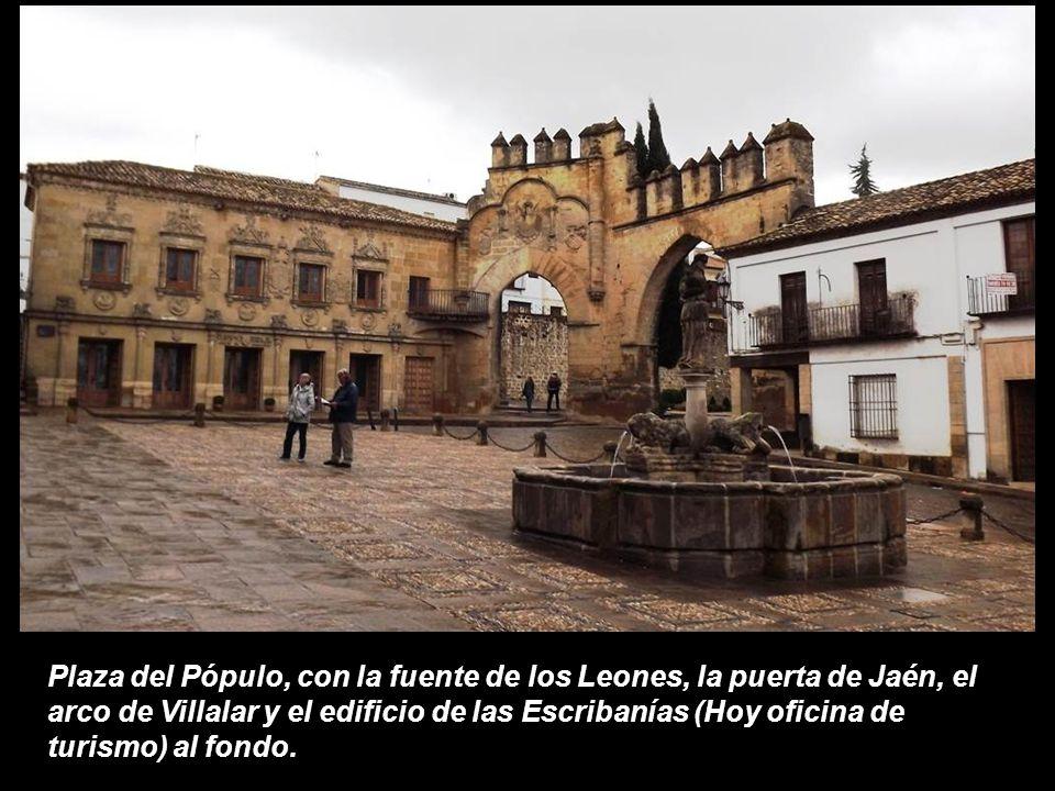 Baeza baeza es un municipio de espa a se encuentran en el for Oficina de turismo de la comunidad de madrid