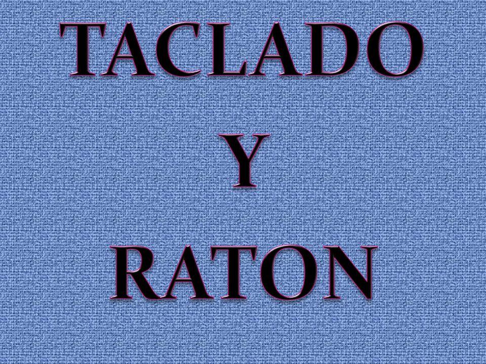 TACLADO Y RATON