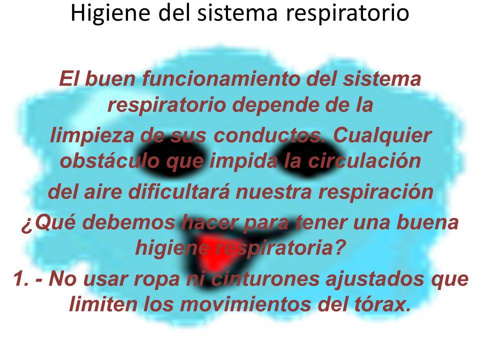 Higiene Del Sistema Respiratorio: Estudiemos El Sistema Respiratorio: _Definición _Órganos