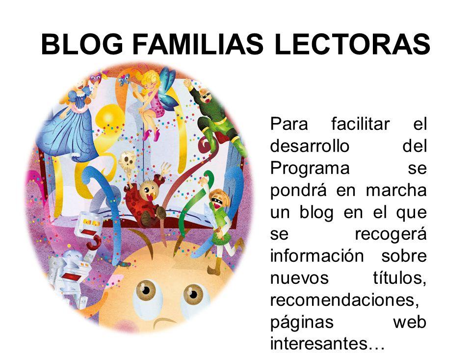 BLOG FAMILIAS LECTORAS