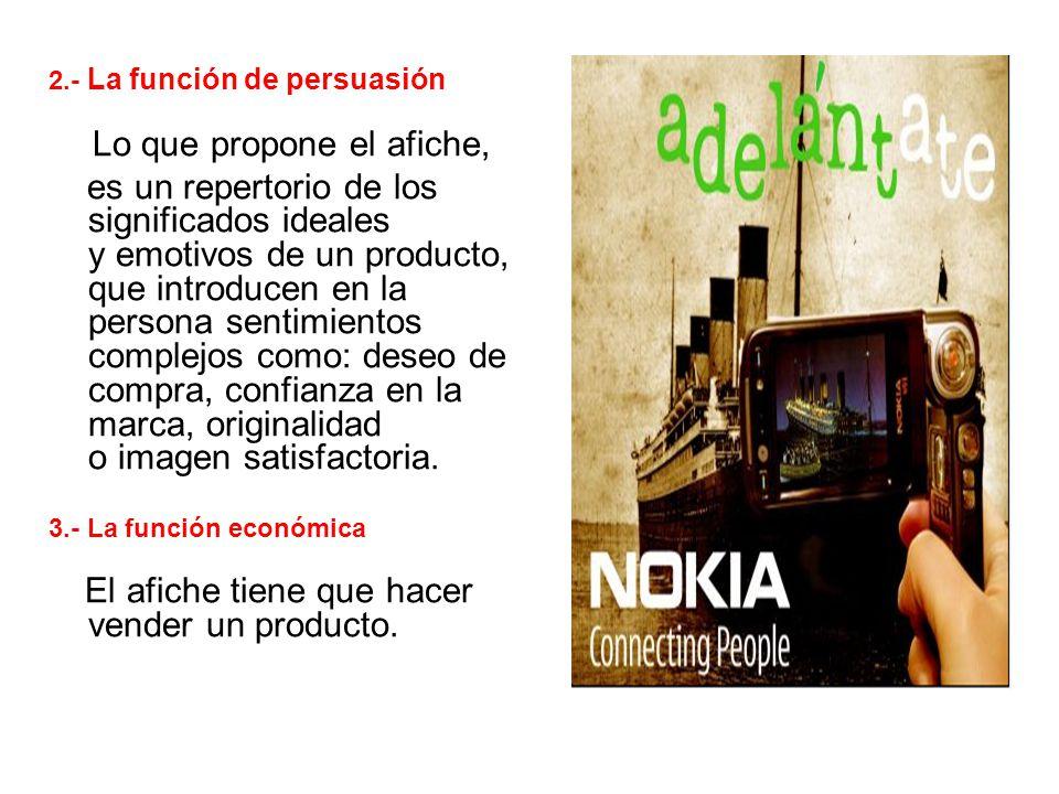 2.- La función de persuasión