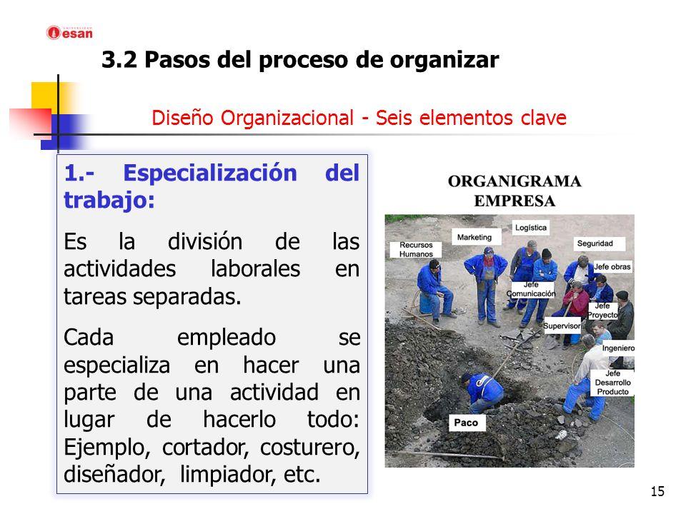 3. el proceso de organización - ppt video online descargar