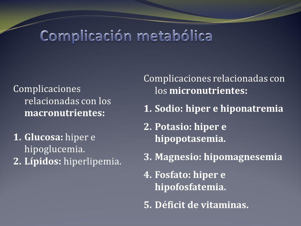Complicación metabólica