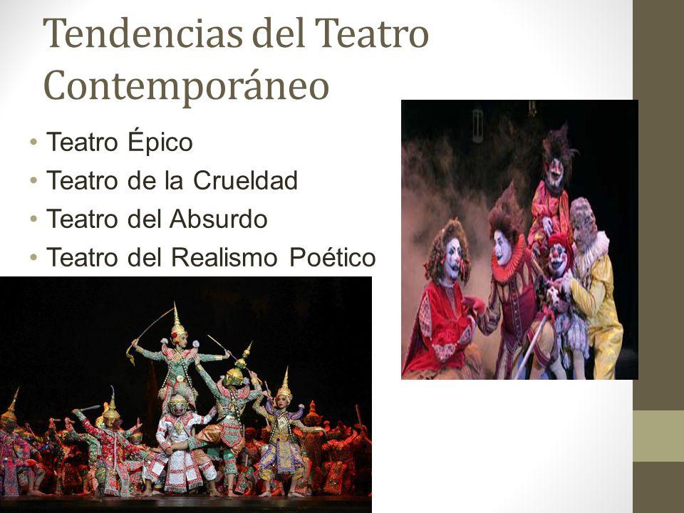 Tendencias del Teatro Contemporáneo