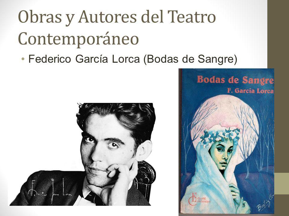 Obras y Autores del Teatro Contemporáneo
