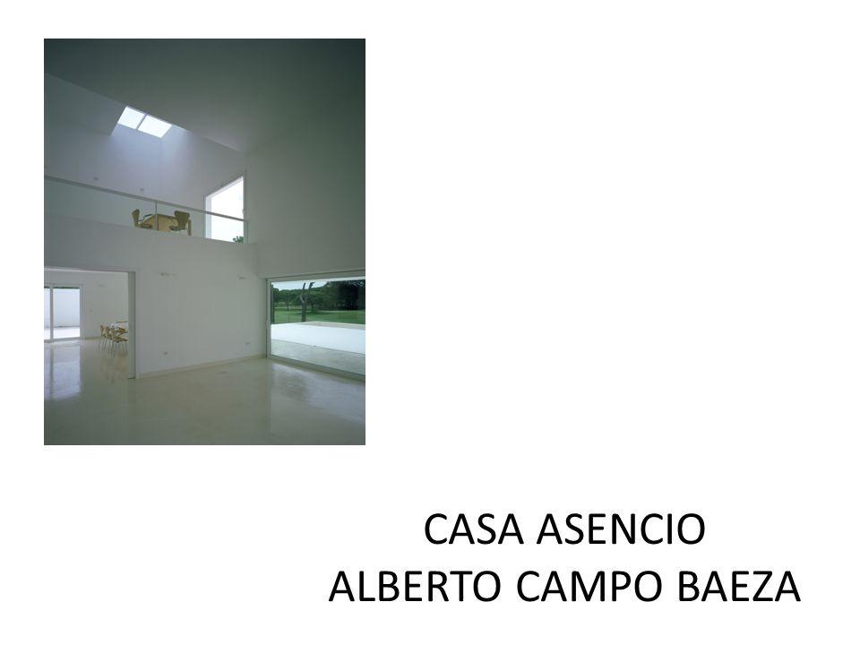 Casa asencio alberto campo baeza ppt descargar - Casa campo baeza ...