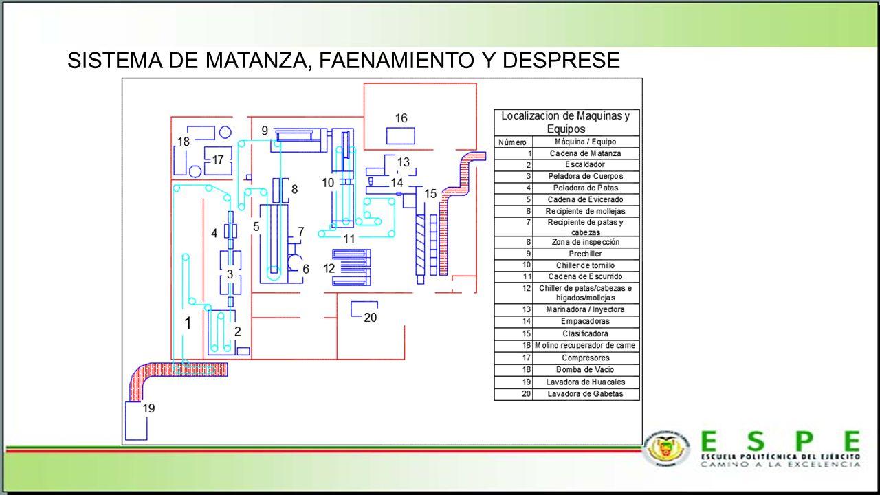 SISTEMA DE MATANZA, FAENAMIENTO Y DESPRESE