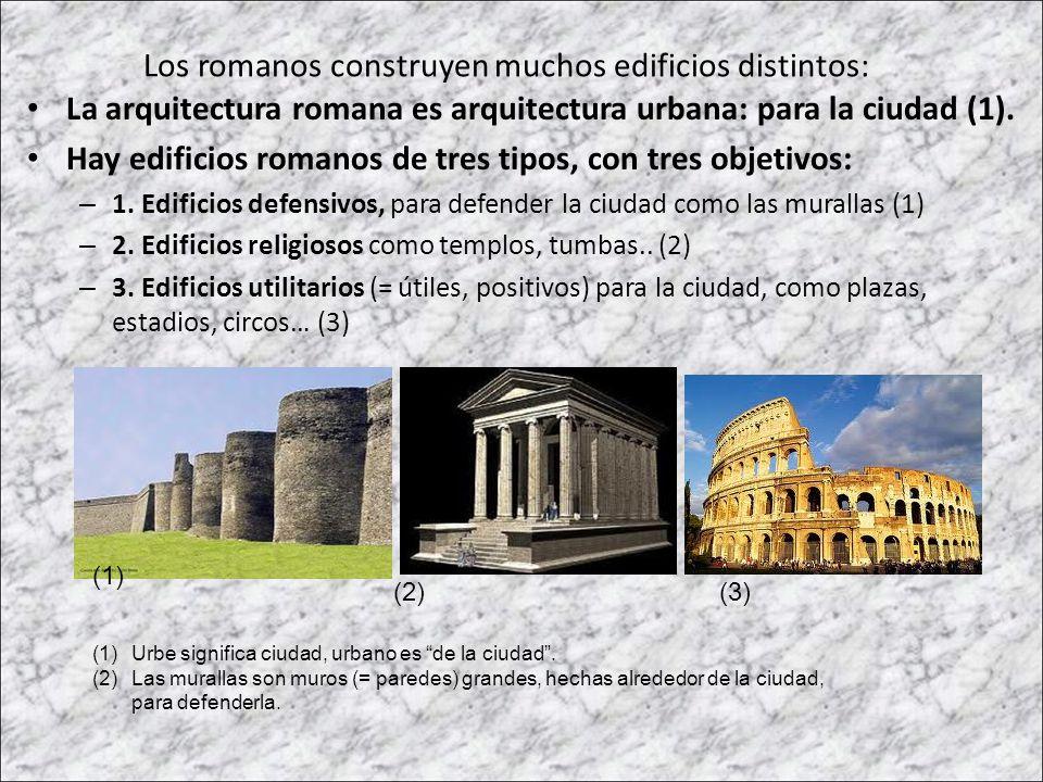Arte romano 2 la arquitectura ppt descargar for Tipos de arquitectura