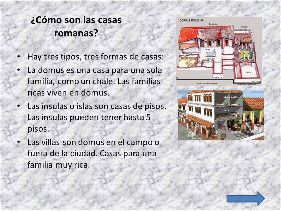Arte romano 2 la arquitectura ppt descargar Como eran las casas griegas