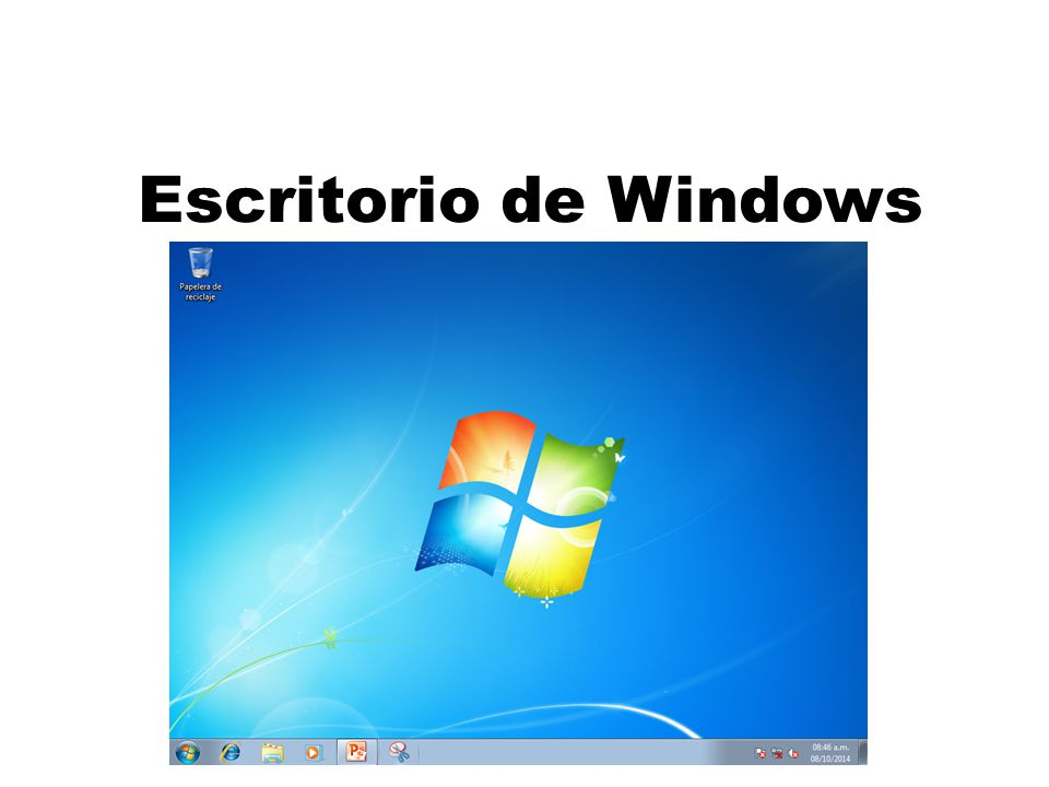Escritorio de windows escritorio de windows iconos y for Que es el fondo de escritorio