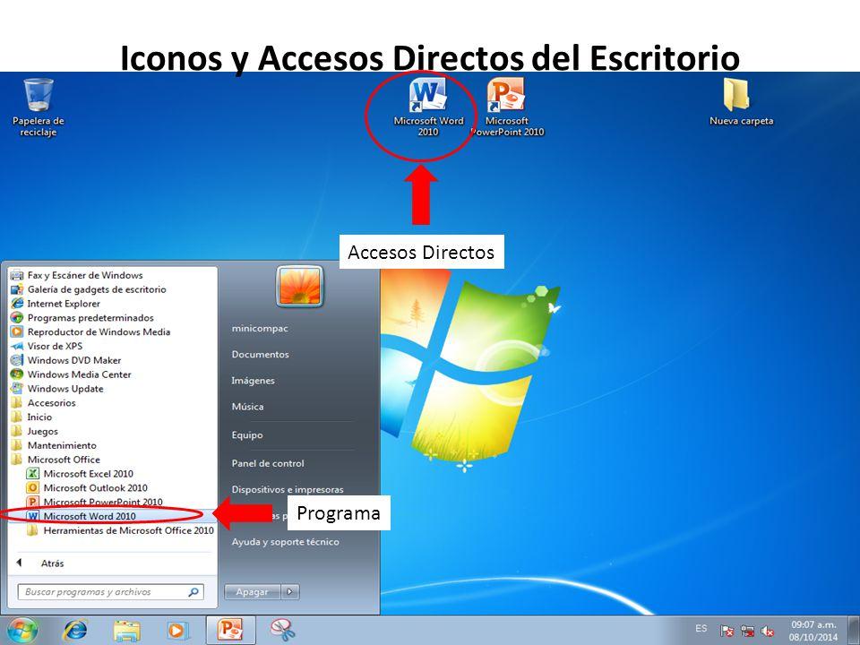 Iconos de escritorio windows 10