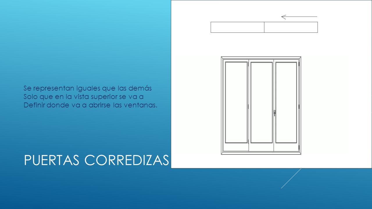 Identificaci n de la simbolog a y dibujo de ventanas en for Simbologia de puertas en planos arquitectonicos