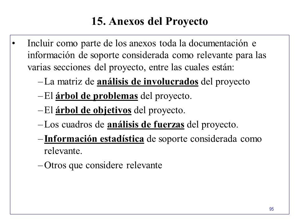 15. Anexos del Proyecto