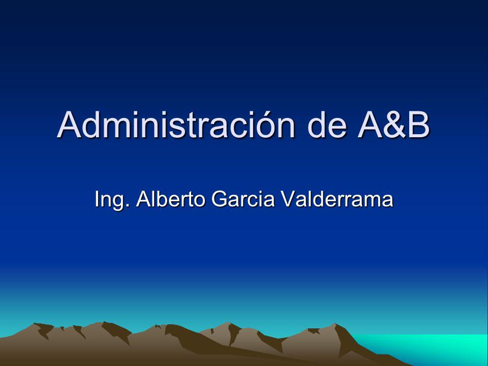 Ing. Alberto Garcia Valderrama