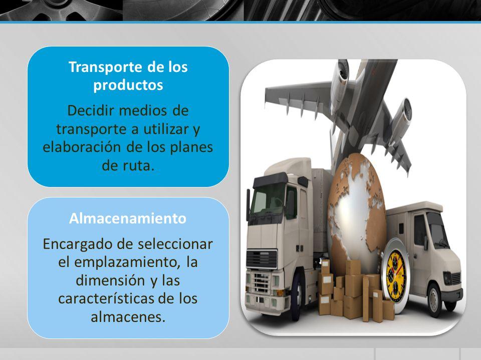Transporte de los productos