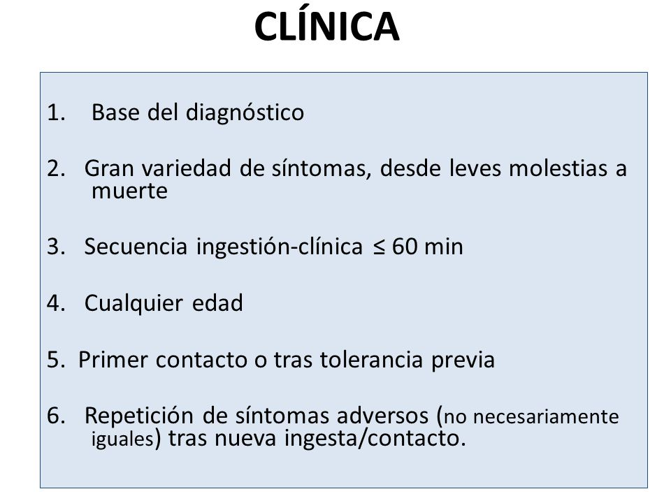 CLÍNICA Base del diagnóstico