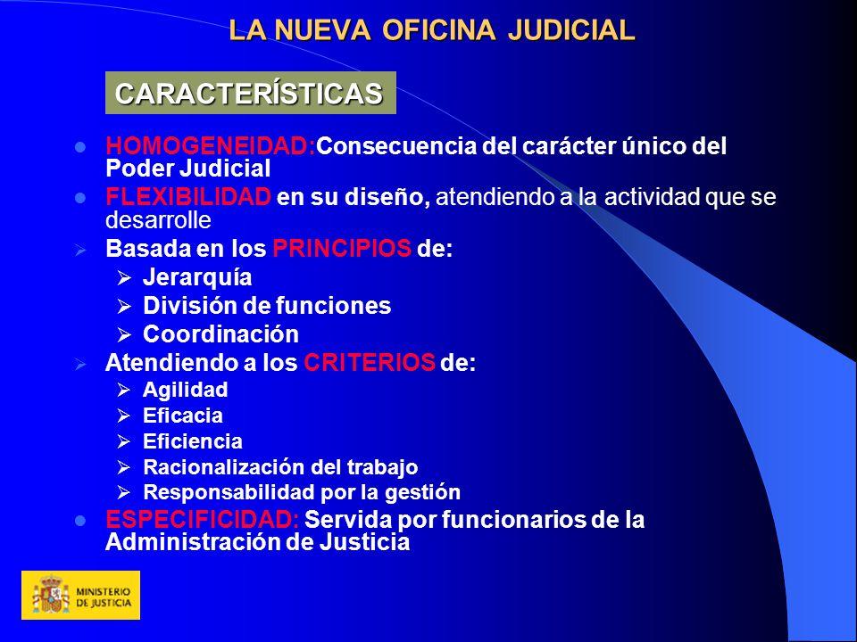 La nueva oficina judicial ppt descargar for Cuales son las caracteristicas de la oficina