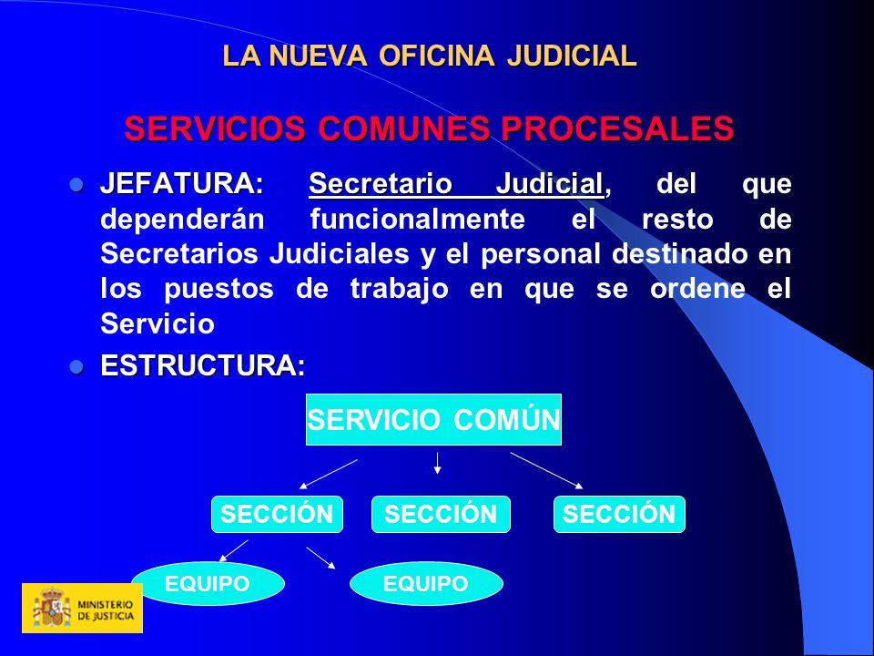 La nueva oficina judicial ppt descargar for Servicios de oficina