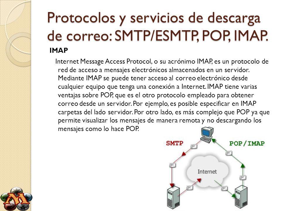 Elementos del servicio de correo electr nico ppt descargar for Protocolo pop