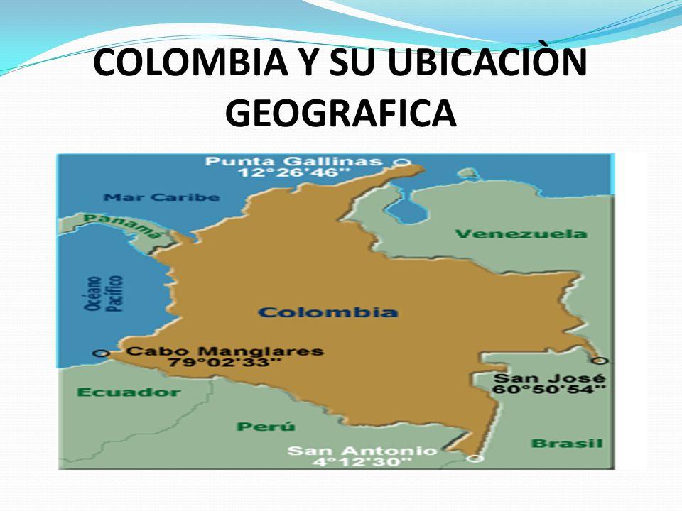 COLOMBIA Y SU UBICACIÒN GEOGRAFICA