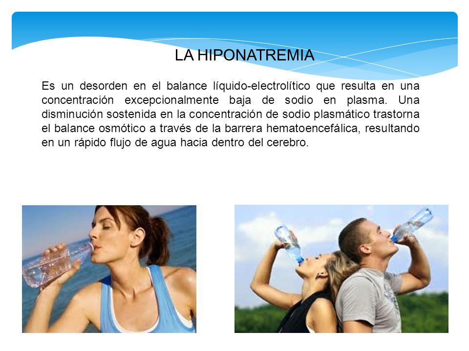 LA HIPONATREMIA