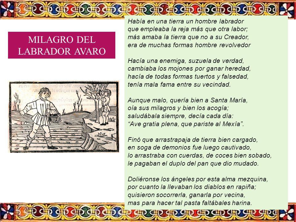 MILAGRO DEL LABRADOR AVARO