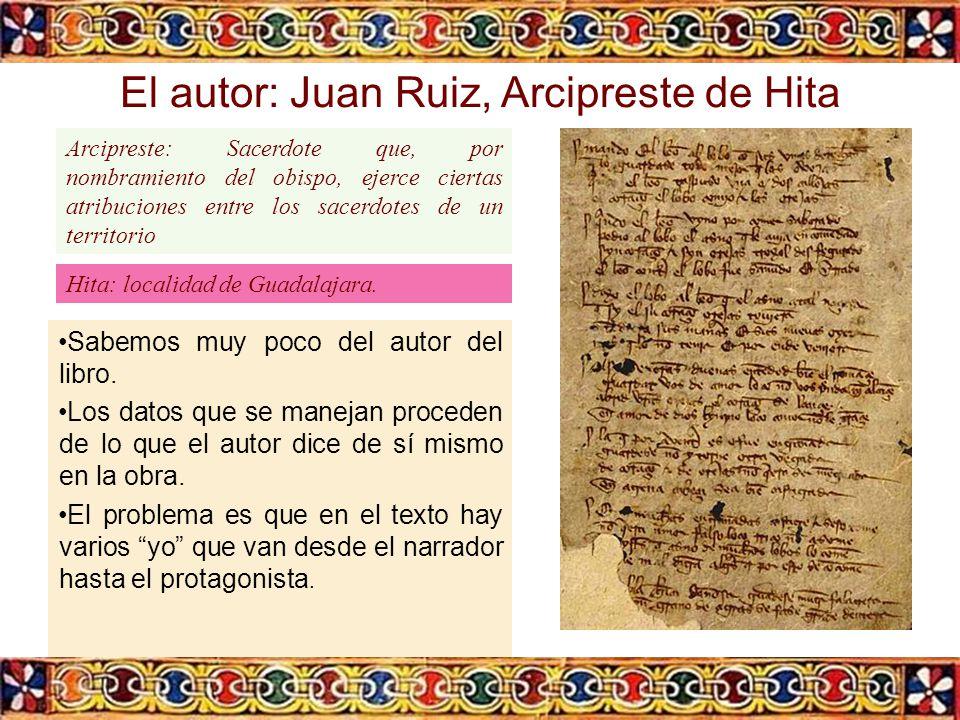 El autor: Juan Ruiz, Arcipreste de Hita