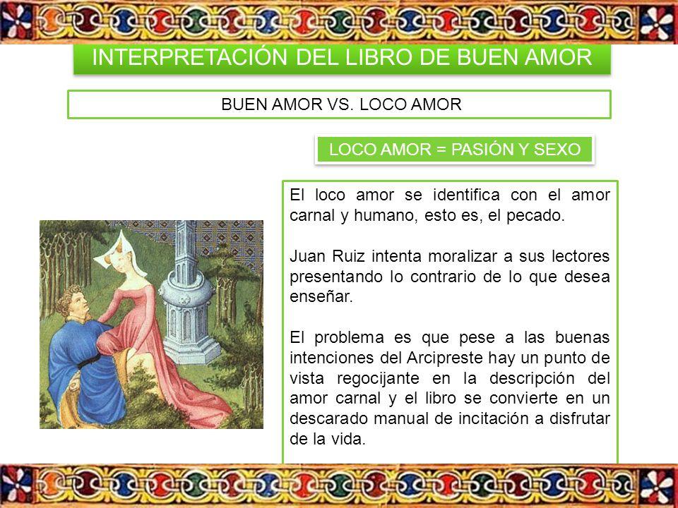 INTERPRETACIÓN DEL LIBRO DE BUEN AMOR