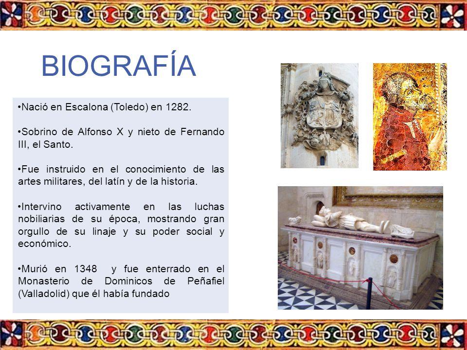 BIOGRAFÍA Nació en Escalona (Toledo) en 1282.