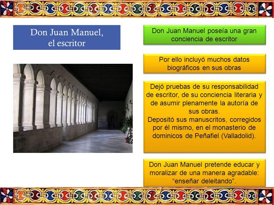Don Juan Manuel, el escritor
