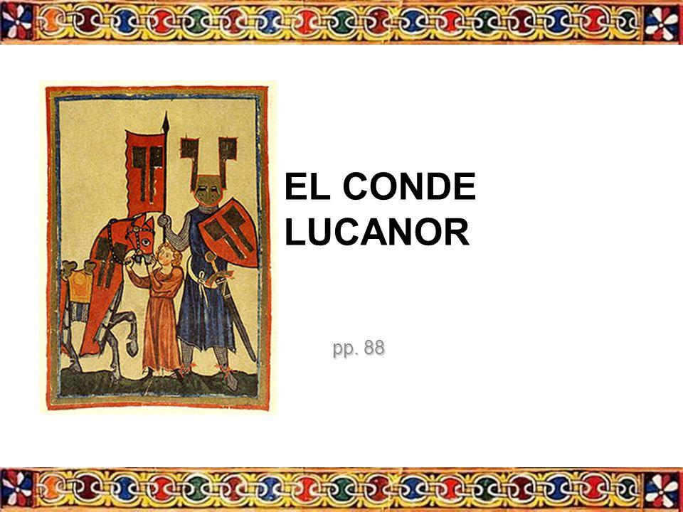 EL CONDE LUCANOR pp. 88