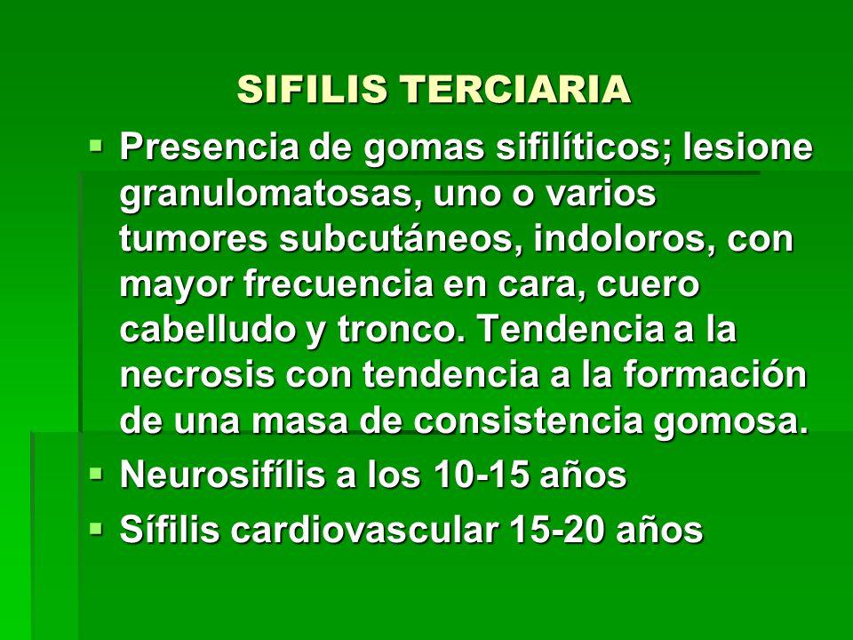 SIFILIS TERCIARIA