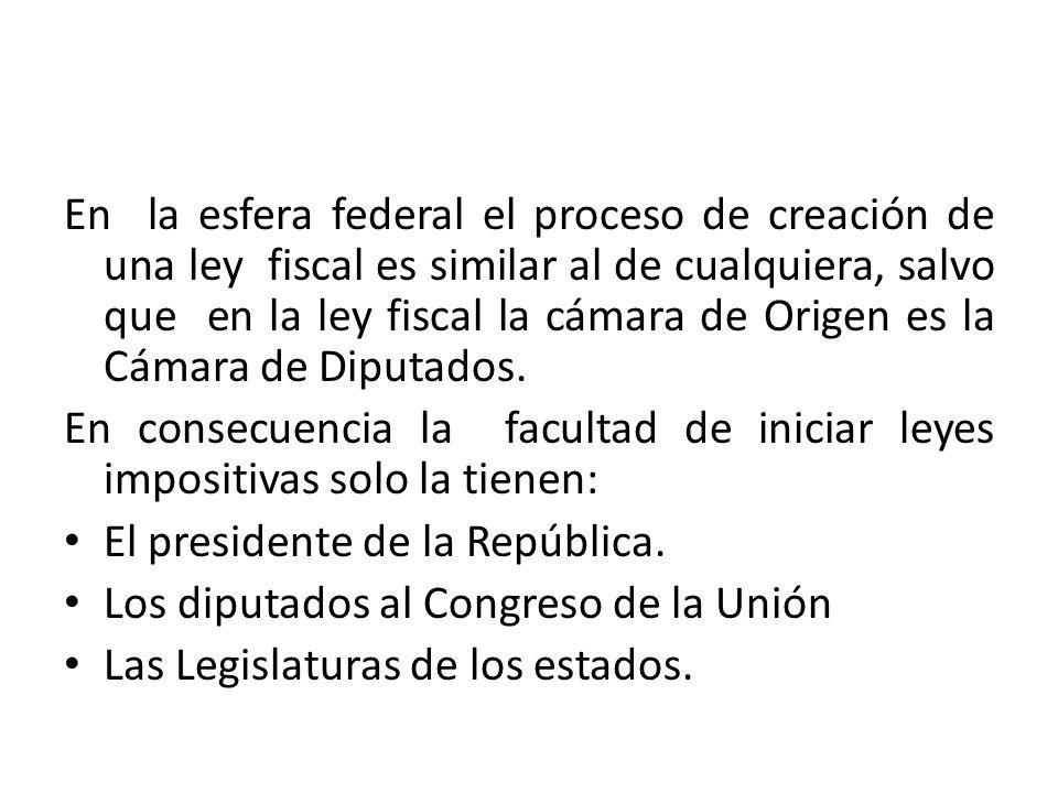 Ordenamientos fiscales ppt descargar for Camara de diputados leyes