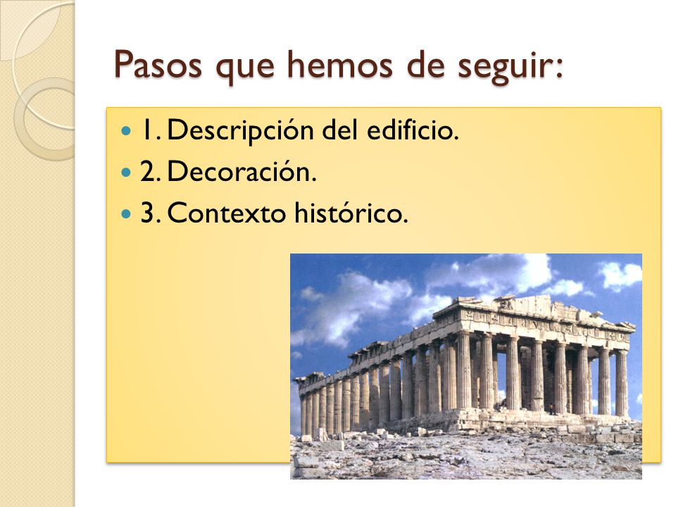 Comentario de una obra arquitect nica ppt descargar for Descripcion de una obra arquitectonica