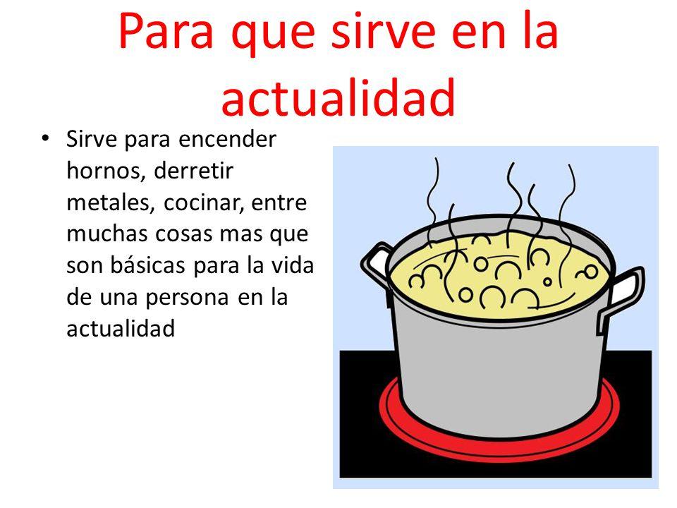 El fuego miguel angel sanchez ppt descargar Cosas para cocinar