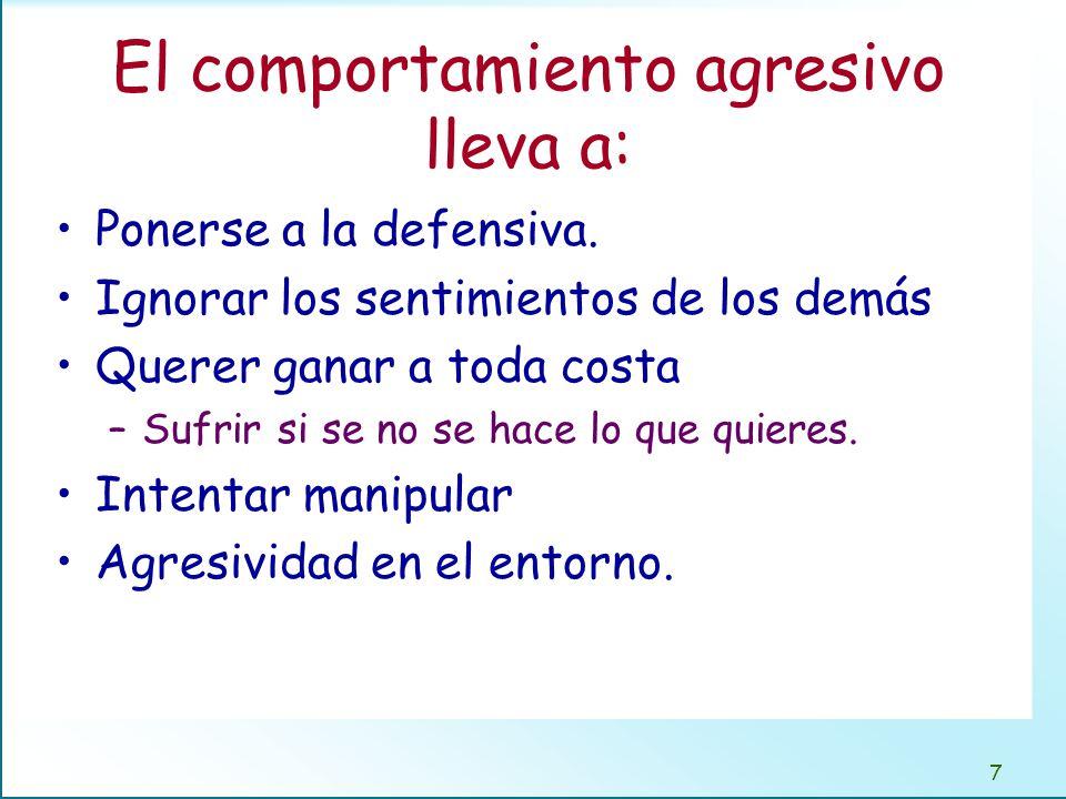 Definición de lo que es la asertividad